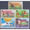 Republika Środkowoafrykańska 1977 Mi 513-517 Czyste **