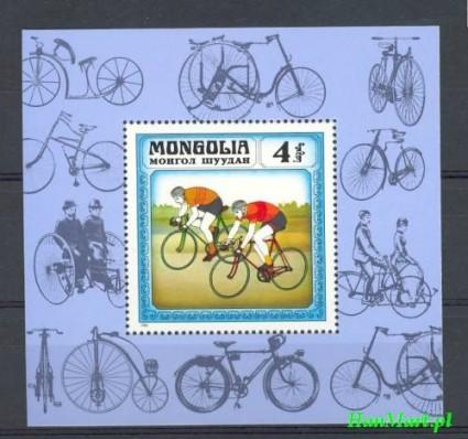 Znaczek Mongolia 1982 Mi bl 84 Czyste **