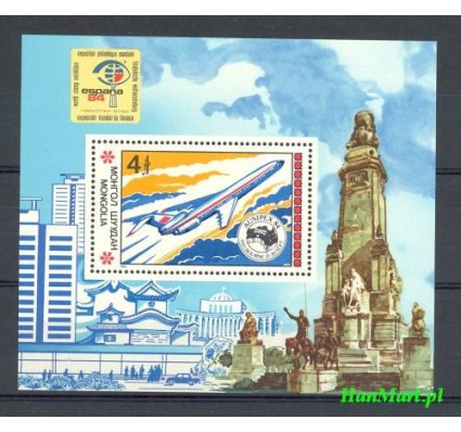 Mongolia 1984 Mi bl 99 Czyste **