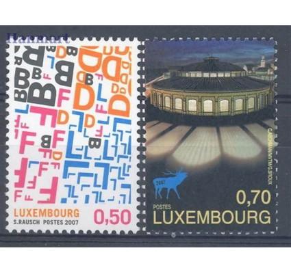Znaczek Luksemburg 2007 Mi 1762-1763 Czyste **