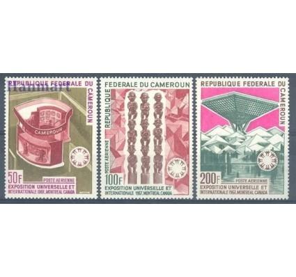 Znaczek Kamerun 1967 Mi 525-527 Czyste **
