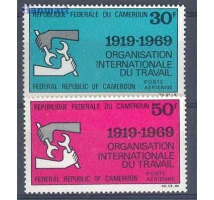 Kamerun 1969 Mi 598-599 Czyste **