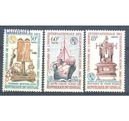 Znaczek Senegal 1965 Mi 304-306 Czyste **