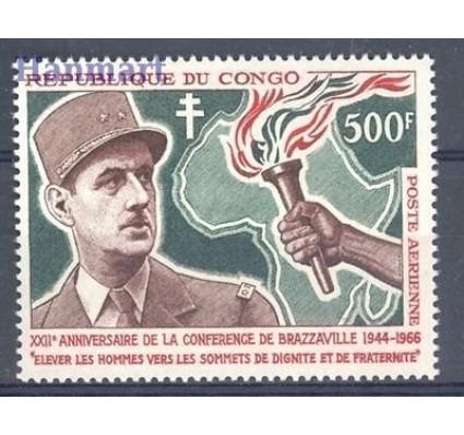 Kongo 1966 Mi 87 Czyste **