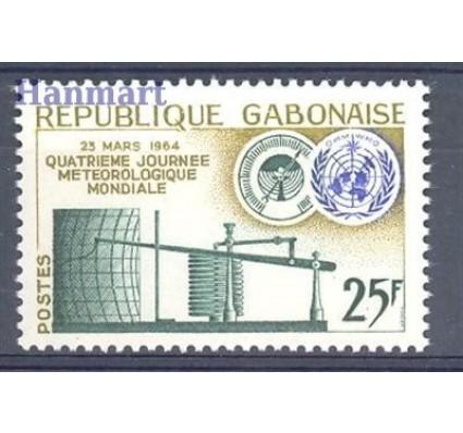 Znaczek Gabon 1964 Mi 196 Czyste **