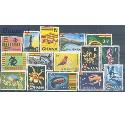 Znaczek Ghana 1959 Mi 48-62 Czyste **