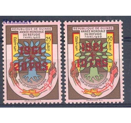 Gwinea 1961 Czyste **