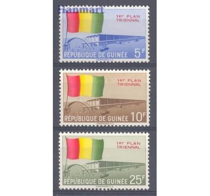 Znaczek Gwinea 1961 Mi 77-79 Czyste **