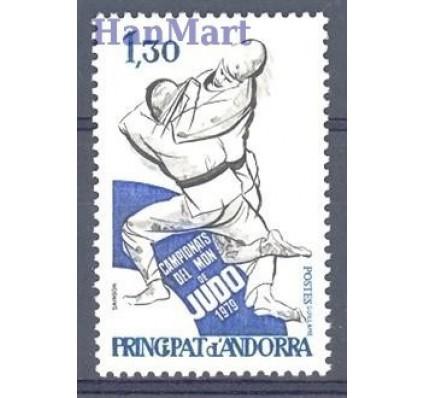 Znaczek Andora Francuska 1979 Mi 302 Czyste **