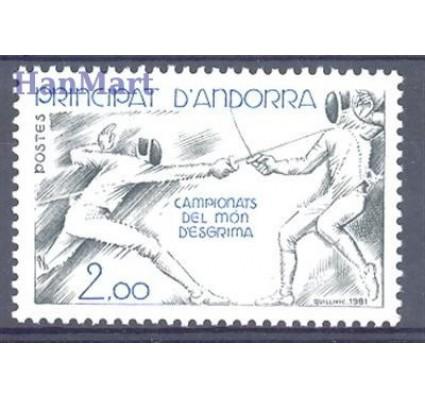 Andora Francuska 1981 Mi 317 Czyste **