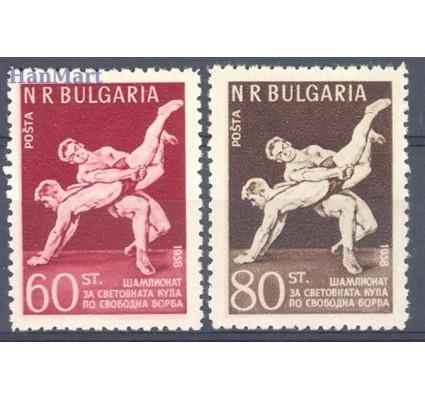 Znaczek Bułgaria 1958 Mi 1067-1068 Czyste **