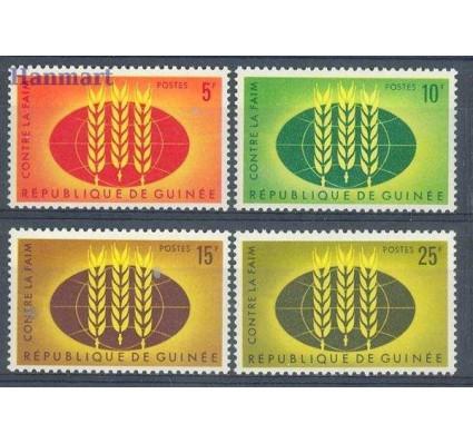 Gwinea 1963 Mi 179-182 Czyste **