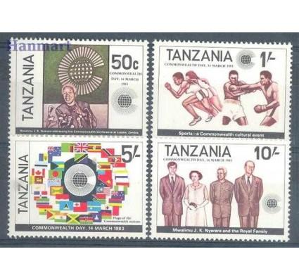 Znaczek Tanzania 1983 Mi 221-224 Czyste **