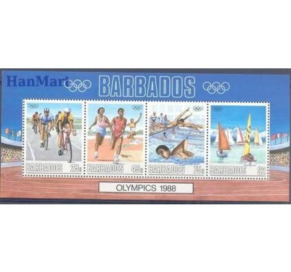 Barbados 1988 Mi bl 23 Czyste **