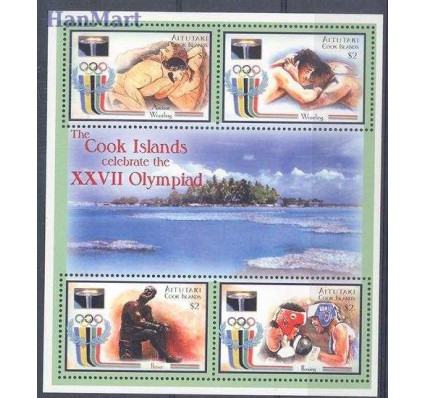 Znaczek Aitutaki 2000 Mi 767-770 Czyste **