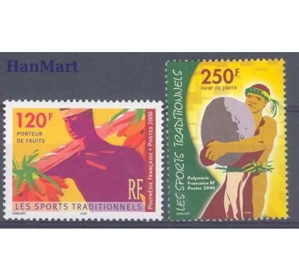 Polinezja Francuska 2000 Mi 826-827 Czyste **