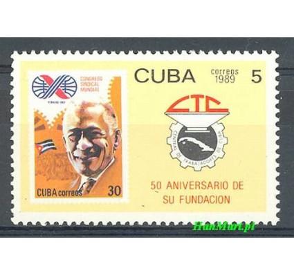 Znaczek Kuba 1989 Mi 3264 Czyste **