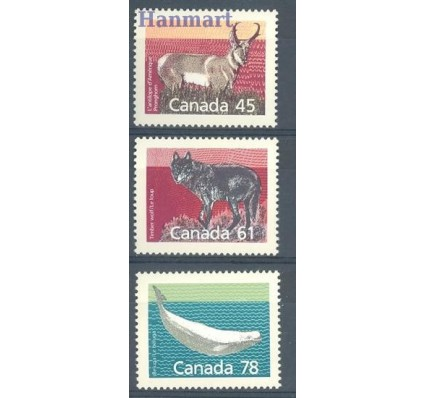 Znaczek Kanada 1990 Mi 1163-1165A Czyste **