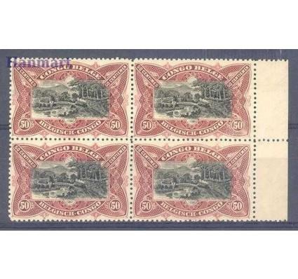 Znaczek Kongo Belgijskie 1910 Mi vie 20 Czyste **