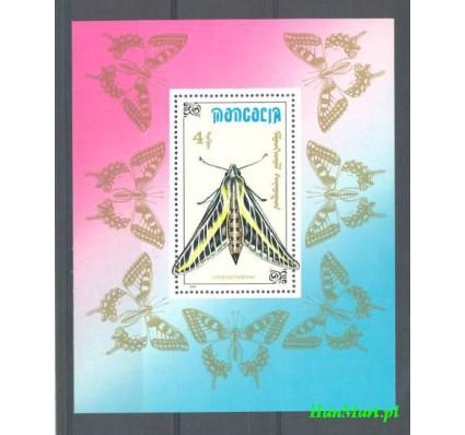 Znaczek Mongolia 1990 Mi bl 156 Czyste **