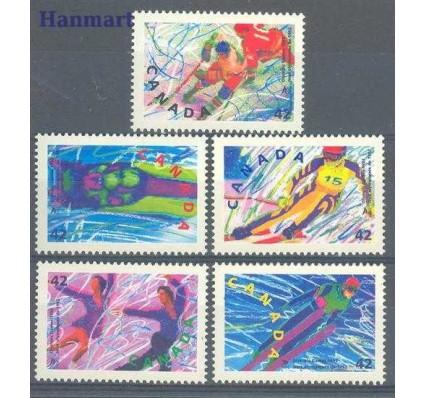 Znaczek Kanada 1992 Mi 1274-1278 Czyste **