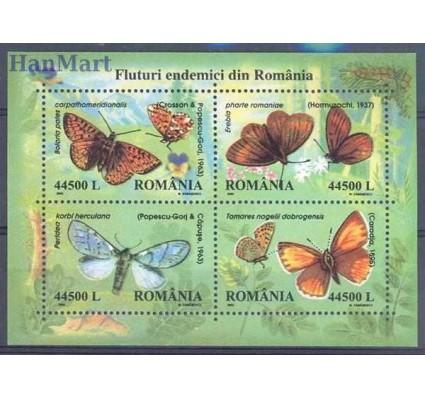 Znaczek Rumunia 2002 Mi bl 322 Czyste **