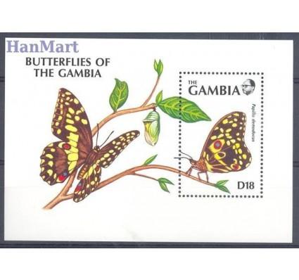 Gambia 1991 Mi bl 113 Czyste **