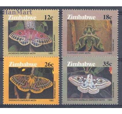 Znaczek Zimbabwe 1986 Mi 344-347 Czyste **