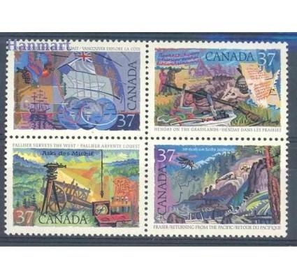 Znaczek Kanada 1988 Mi 1079-1082 Czyste **