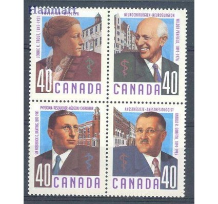 Kanada 1991 Mi 1218-1221 Czyste **