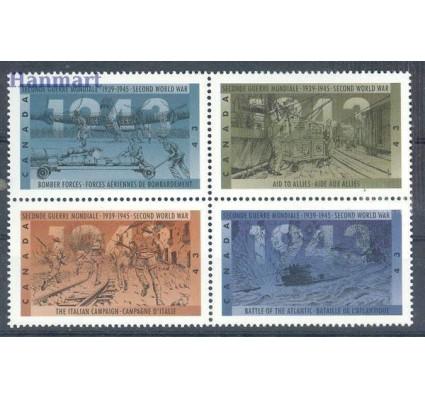 Znaczek Kanada 1993 Mi 1397-1400 Czyste **