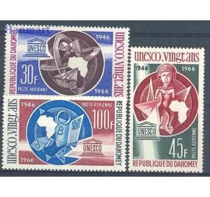 Znaczek Dahomej 1966 Mi 290-292 Czyste **