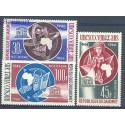 Dahomej 1966 Mi 290-292 Czyste **