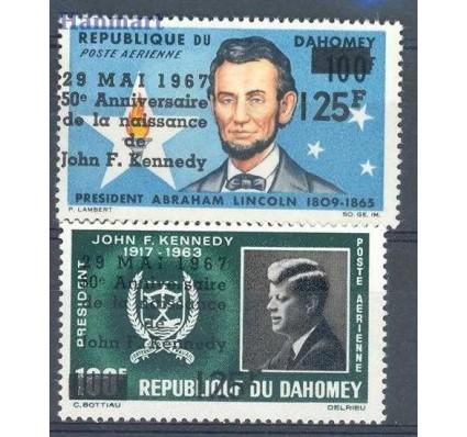 Dahomej 1967 Mi 313-314 Czyste **