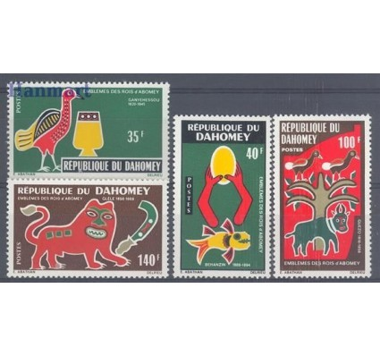 Znaczek Dahomej 1971 Mi 458-461 Czyste **