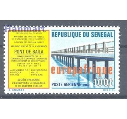 Znaczek Senegal 1969 Mi 408 Czyste **