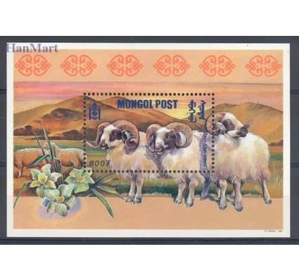 Znaczek Mongolia 1999 Mi bl 308 Czyste **
