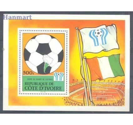 Znaczek Wybrzeże Kości Słoniowej 1978 Mi bl 12 Czyste **