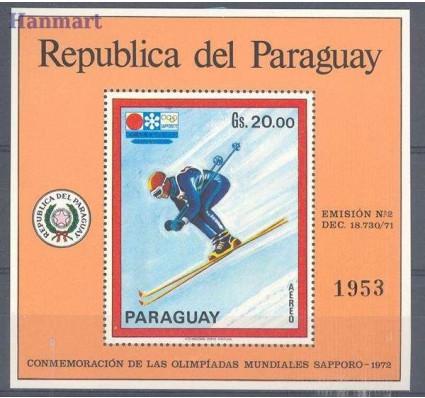 Znaczek Paragwaj 1972 Mi bl 177 Czyste **