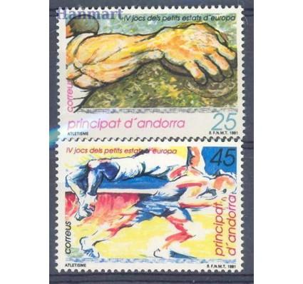 Znaczek Andora Hiszpańska 1991 Mi 219-220 Czyste **