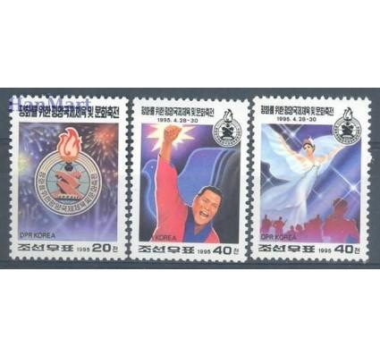 Znaczek Korea Północna 1995 Mi 3724-3726 Czyste **