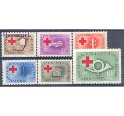 Znaczek Węgry 1957 Mi 1490-1495 Czyste **