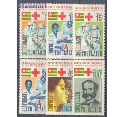 Znaczek Togo 1966 Mi 507-512 Czyste **