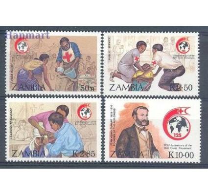 Znaczek Zambia 1988 Mi 456-459 Czyste **