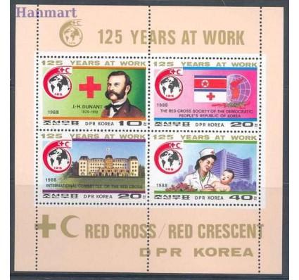 Znaczek Korea Północna 1988 Mi 2897-2900 Czyste **