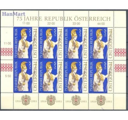 Znaczek Austria 1993 Mi ark 2113 Czyste **