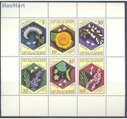 Znaczek Bułgaria 1987 Mi ark 3582-3587 Czyste **