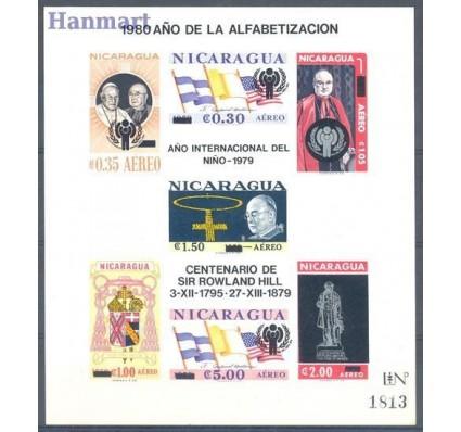 Znaczek Nikaragua 1980 Mi bl 116 Czyste **