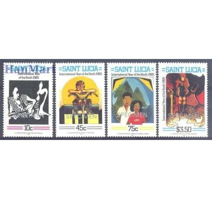 Znaczek Saint Lucia 1985 Mi 797-800 Czyste **
