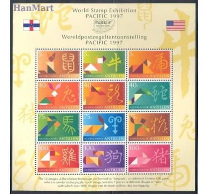 Znaczek Antyle Holenderskie 1997 Mi bl 45 Czyste **